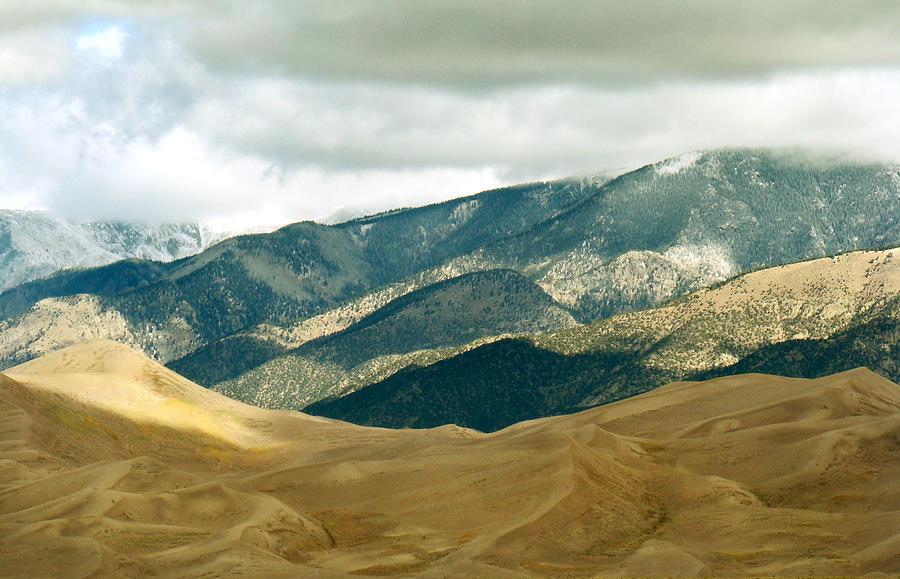 Landscape Photograph - Colorado Mountain View by Eva Kato