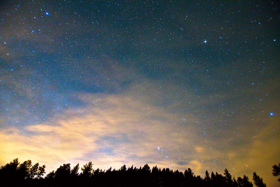 Colorado Night Sky Photograph