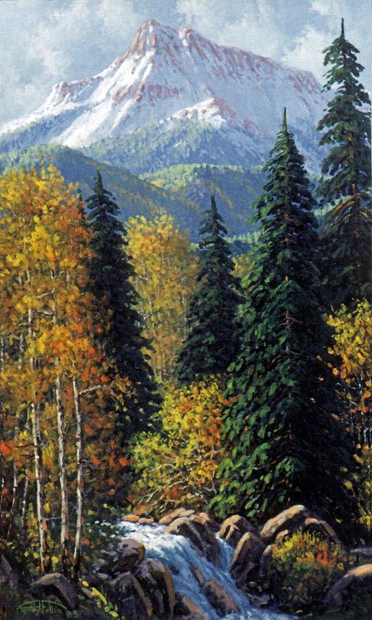 Colorado Painting - Colorado by Randy Follis