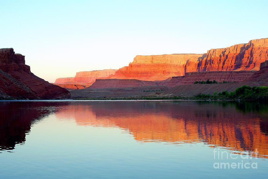 Colorado River Photograph - Colorado River At Dawn by Douglas Taylor