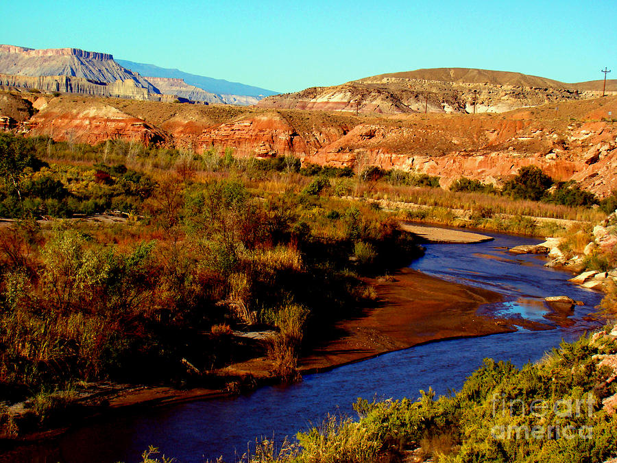 Landscape Photograph - Colorado River by Eva Kato