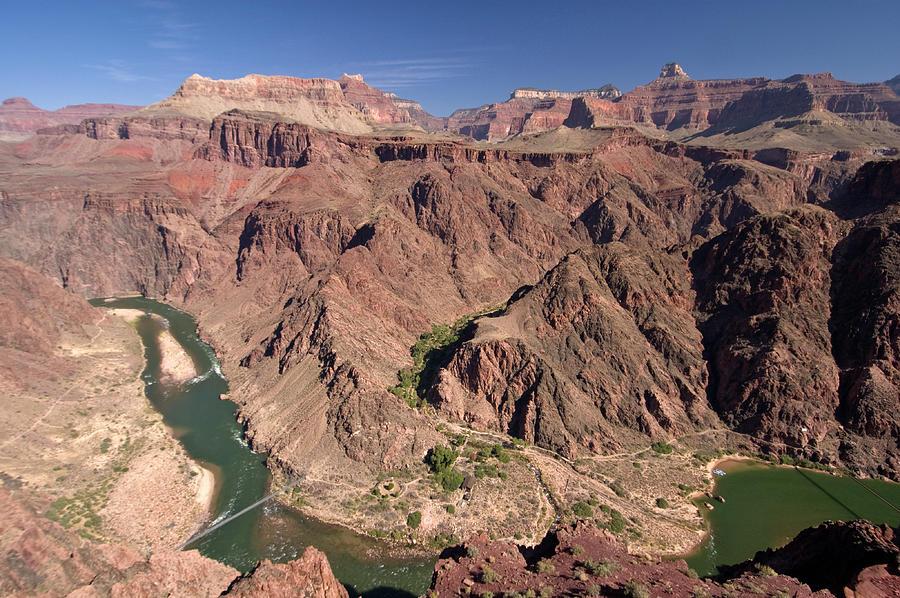 Colorado River Gorge, South Kaibab Photograph by John Elk