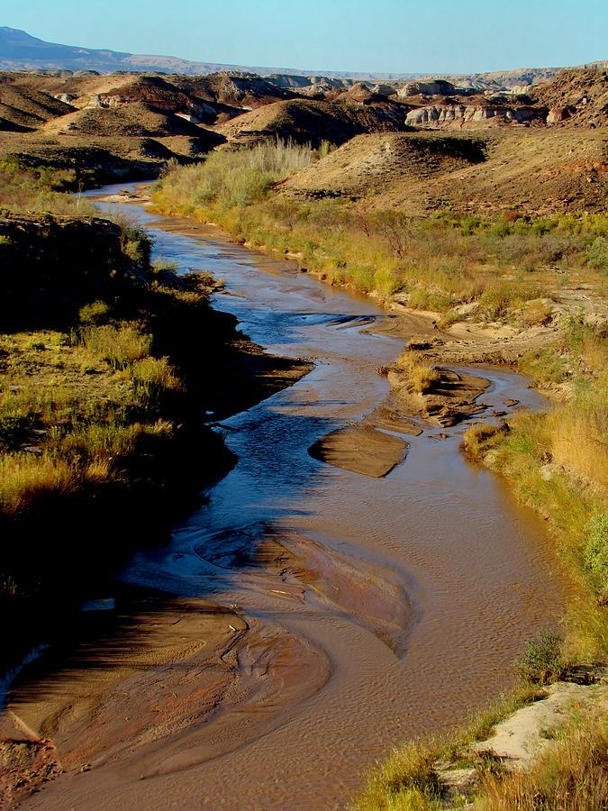 Landscape Photograph - Colorado River View by Eva Kato