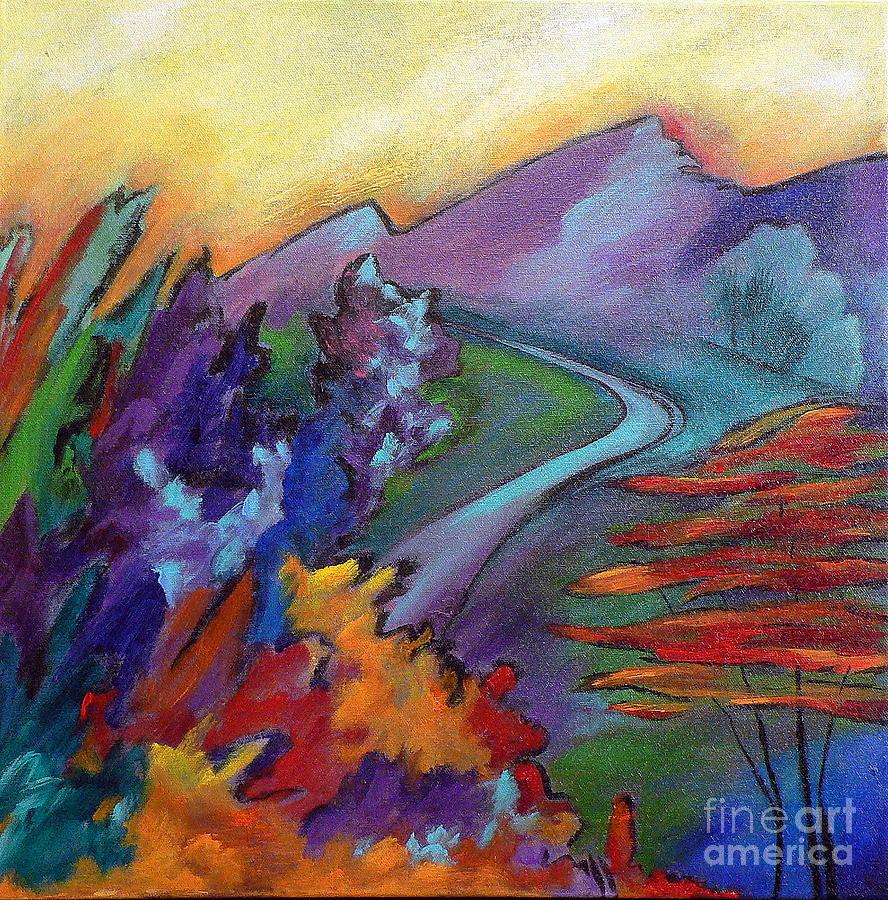 Landscape Painting - Colordance by Elizabeth Fontaine-Barr