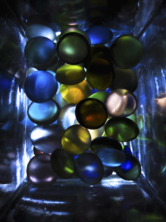 Colored Stones Of Light Photograph by Joseph Hedaya