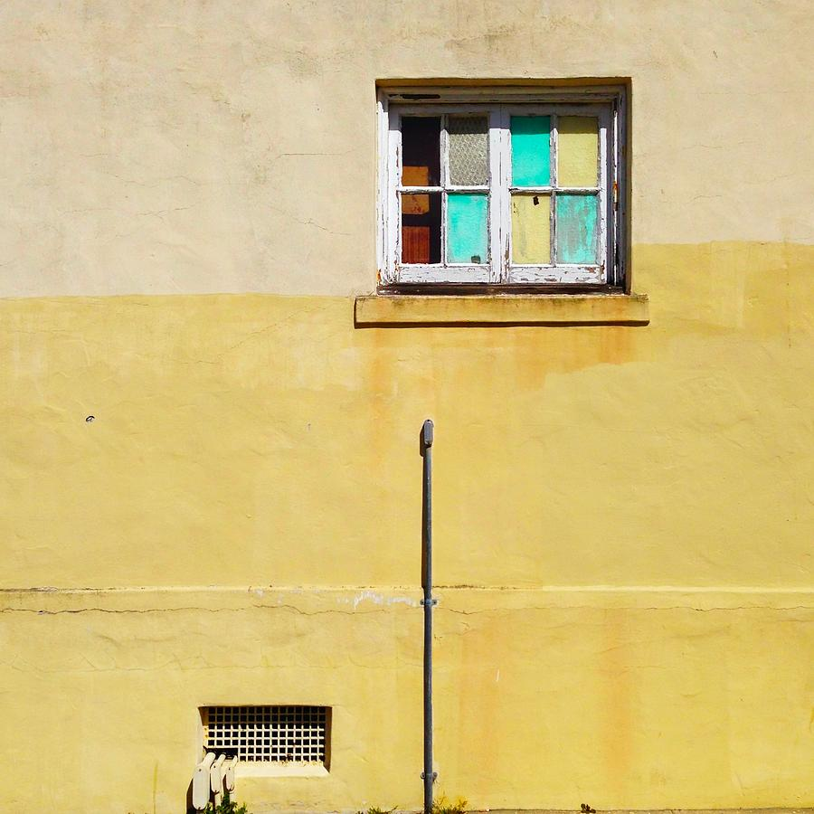 Window Photograph - Colored Window by Julie Gebhardt