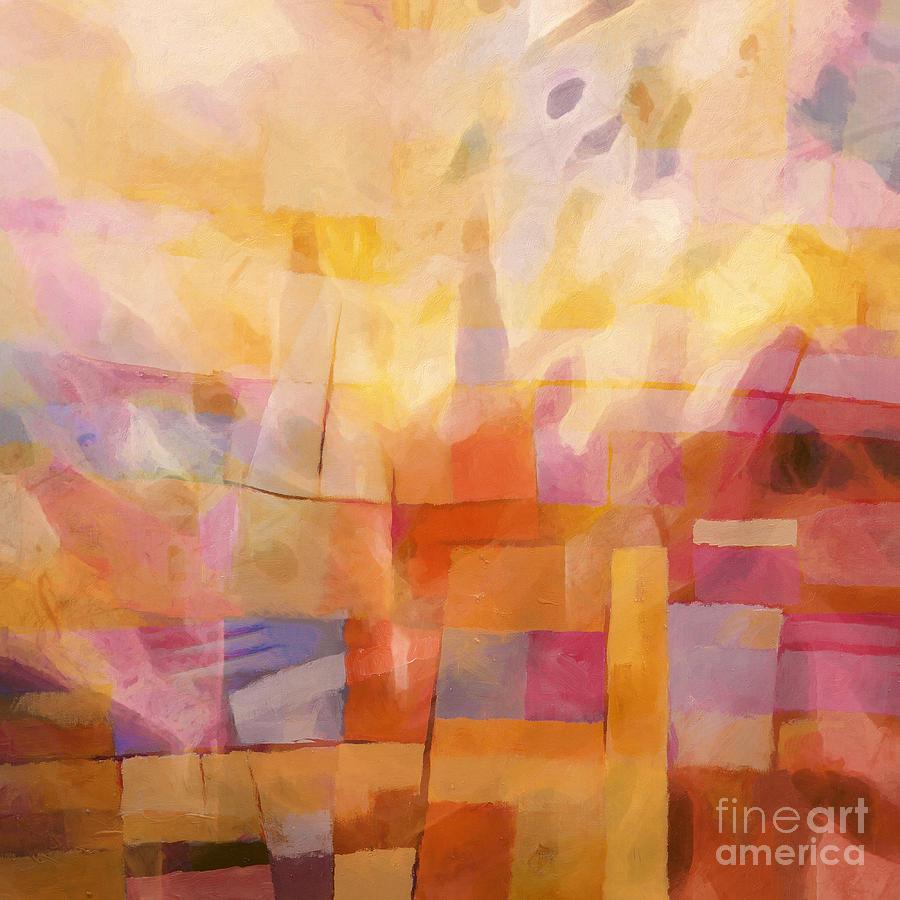 Fiesta Painting - Colorfiesta by Lutz Baar