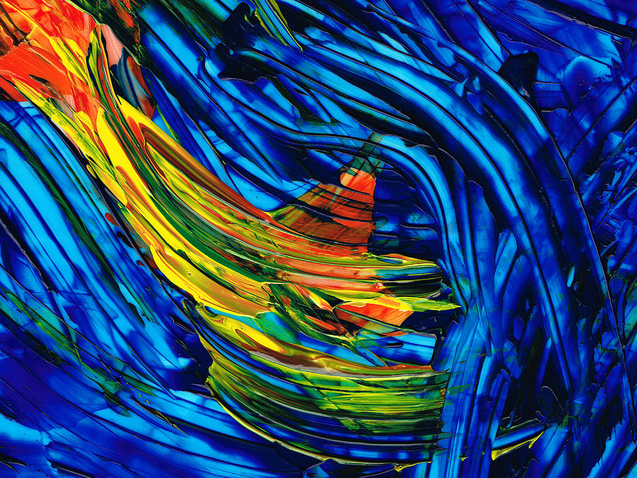 Abstract Painting - Colorful Abstract Art - Energy Flow 3 - By Sharon Cummings by Sharon Cummings