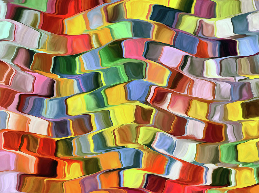 Colorful Abstract Background Digital Art by Grigoriosmoraitis