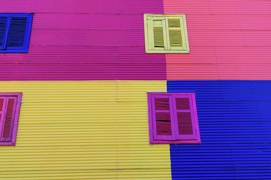 Colorful Area In La Boca Neighborhoods Photograph by Mariusz prusaczyk