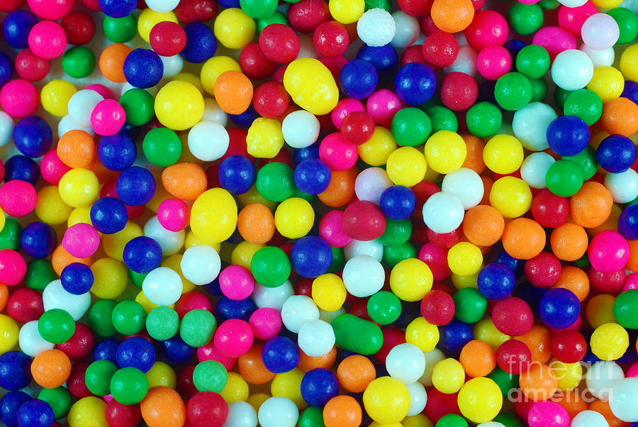Colorful Candy Closeup Photograph By Danny Hooks Colourful Images