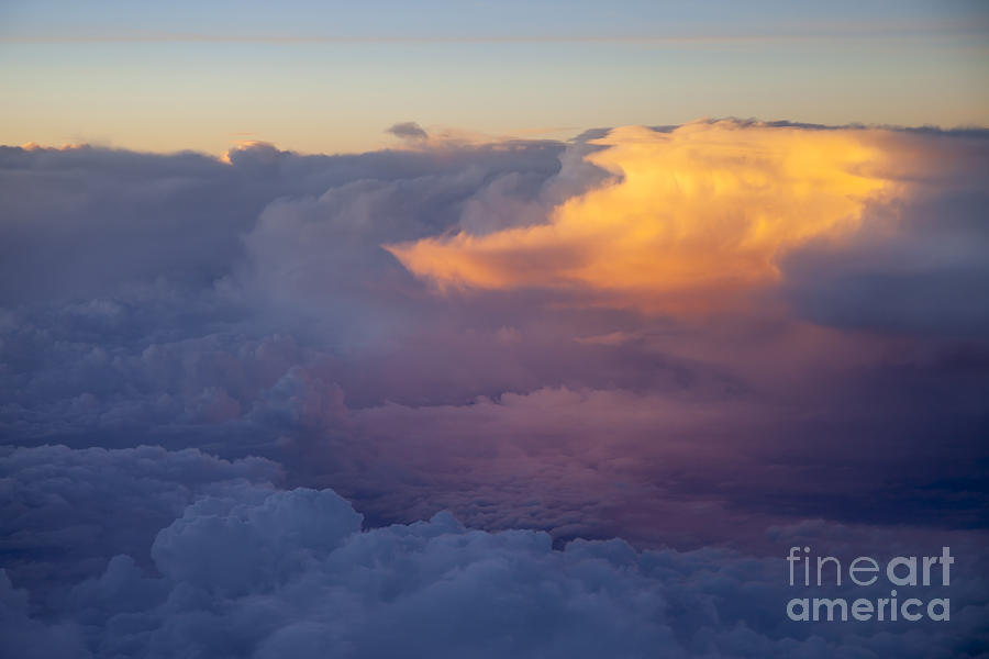 Above Photograph - Colorful Cloud by Brian Jannsen