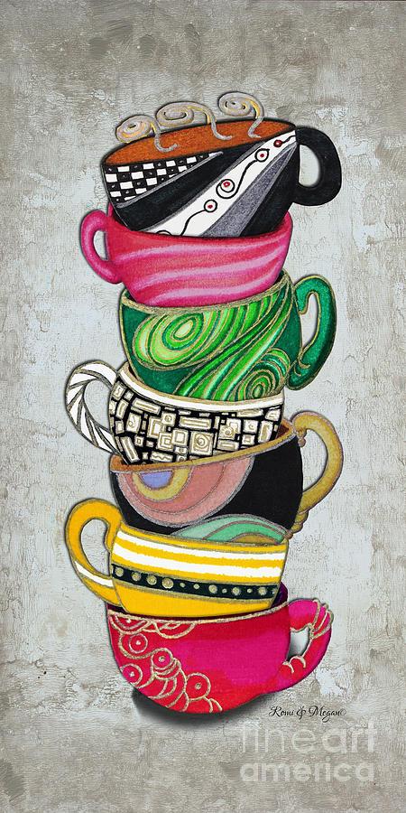 Acrylic Mug Painting