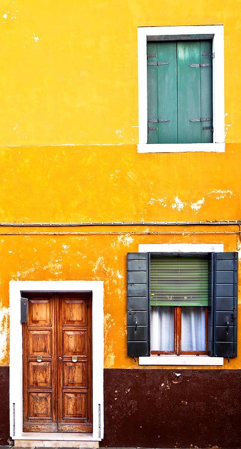 Door Photograph - Colorful Entry by Susan Schmitz
