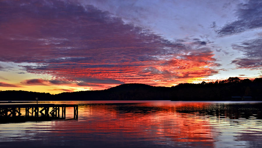 Evening Photograph - Colorful Evening by Susan Leggett