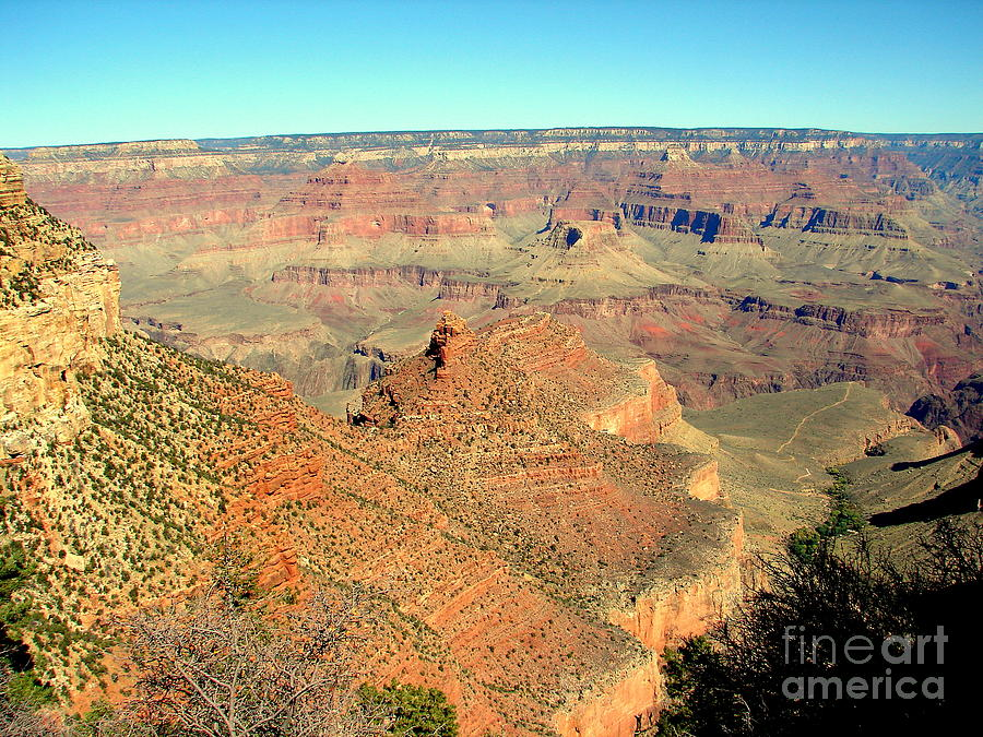 Grand Canyon Photograph - Colorful Grand Canyon by John Potts