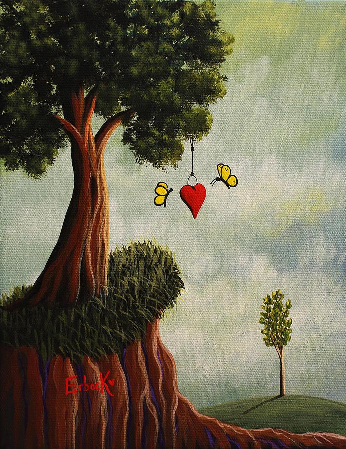 Surreal Landscape Paintings by Erback Art