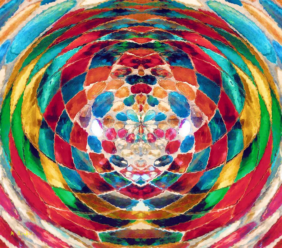 Colorful Mosaic by Alec Drake