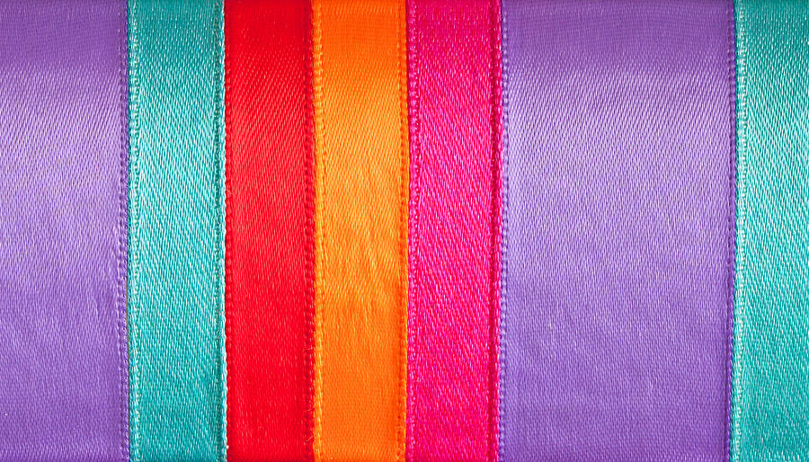 Background Photograph - Colorful Nylon by Tom Gowanlock