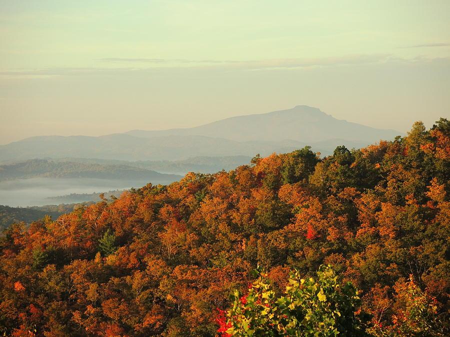 Fall Photograph - Colorful Ridge by Michael Gooch