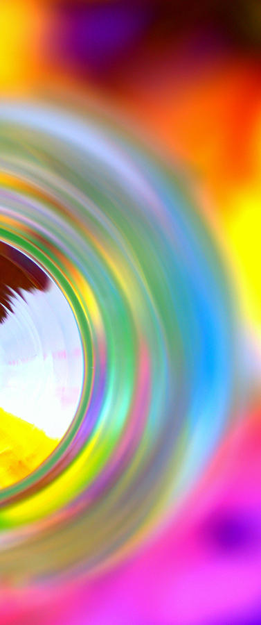 Rainbow Photograph - Colorful Rings II by Christine Ricker Brandt