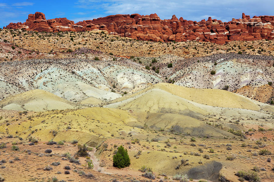 Colorful Salt Valley Sand Photograph by Lucynakoch