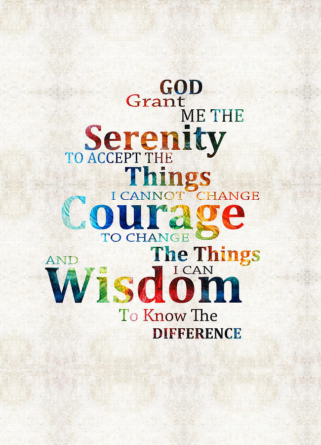 Image result for serenity prayer