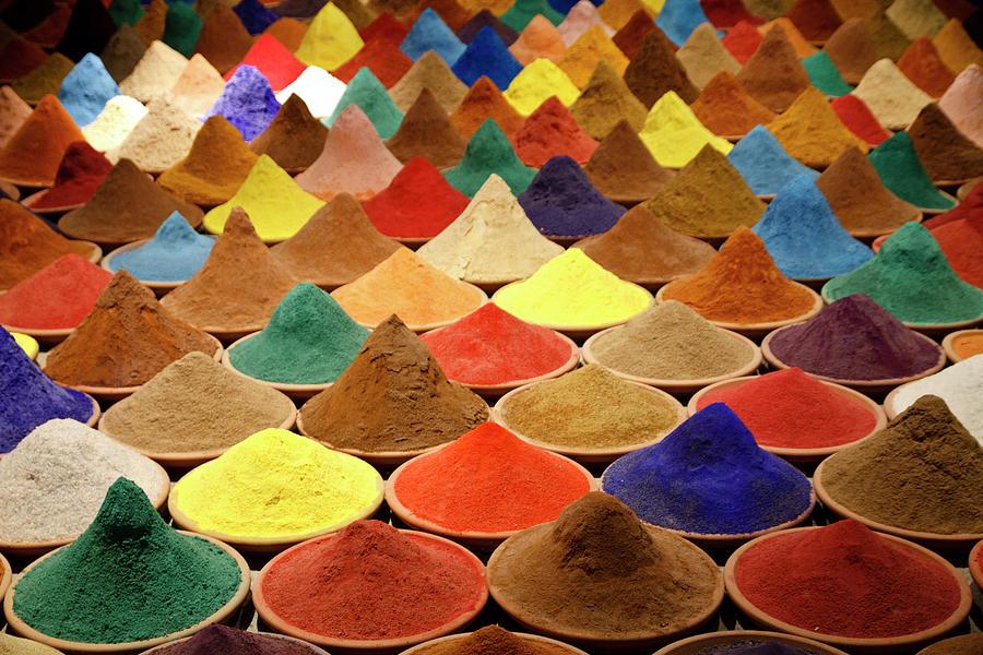 Colorful Spices Photograph by Gabriele Kahal - Www.flickr.com/photos/gabrielekahal