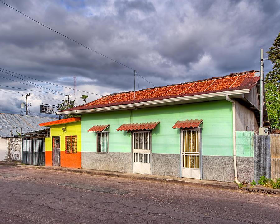 Costa Rica Photograph - Colorful Streets Of Costa Rica - Liberia by Mark E Tisdale
