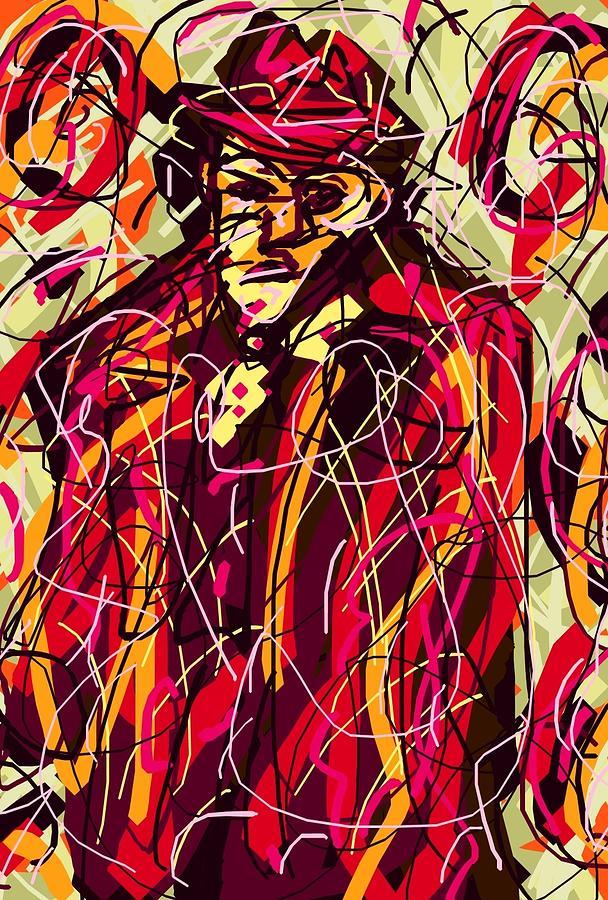Colorful Digital Art - Colorful Suit by Rachel Scott