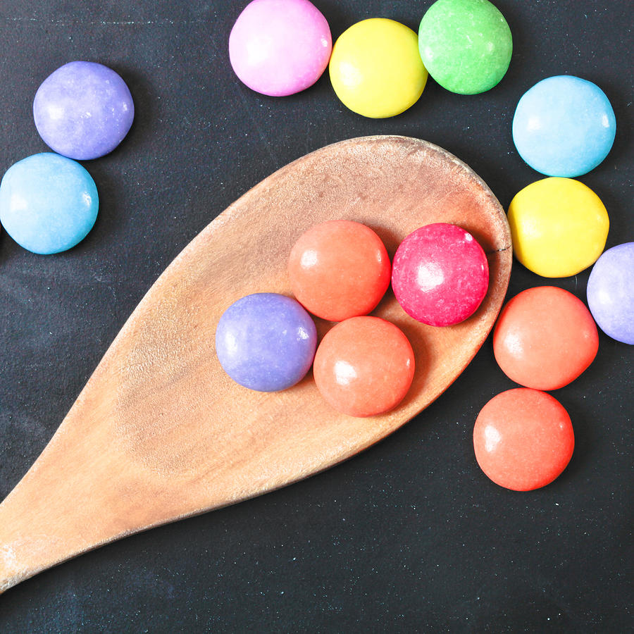 Background Photograph - Colorful Sweets by Tom Gowanlock