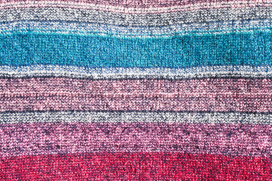 Abstract Photograph - Colorful Textile by Tom Gowanlock