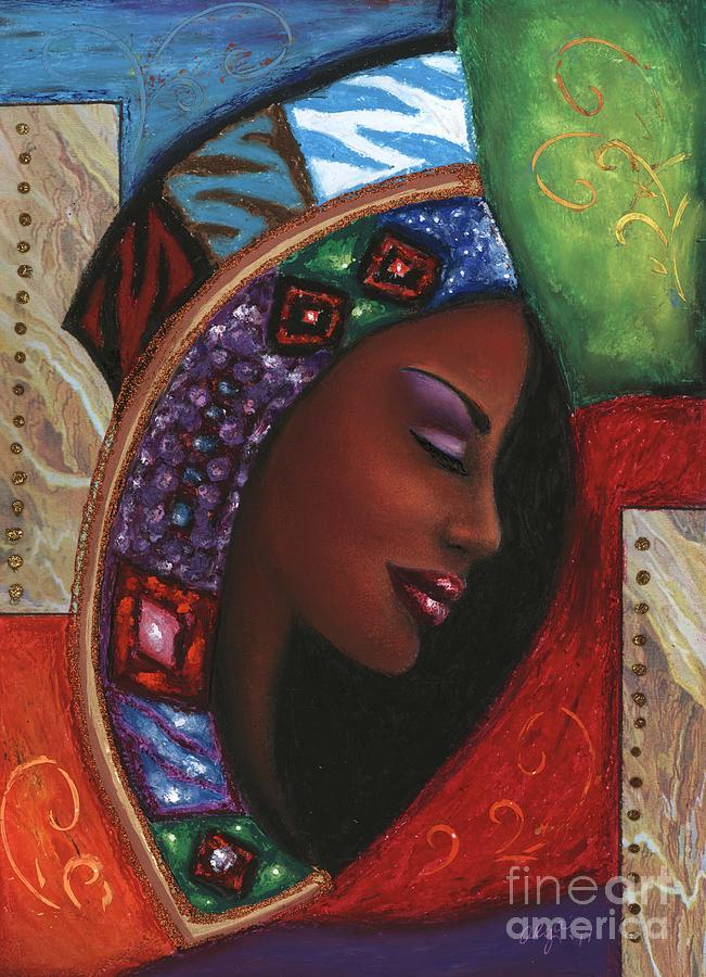 Painting Mixed Media - Colorful Thought by Alga Washington