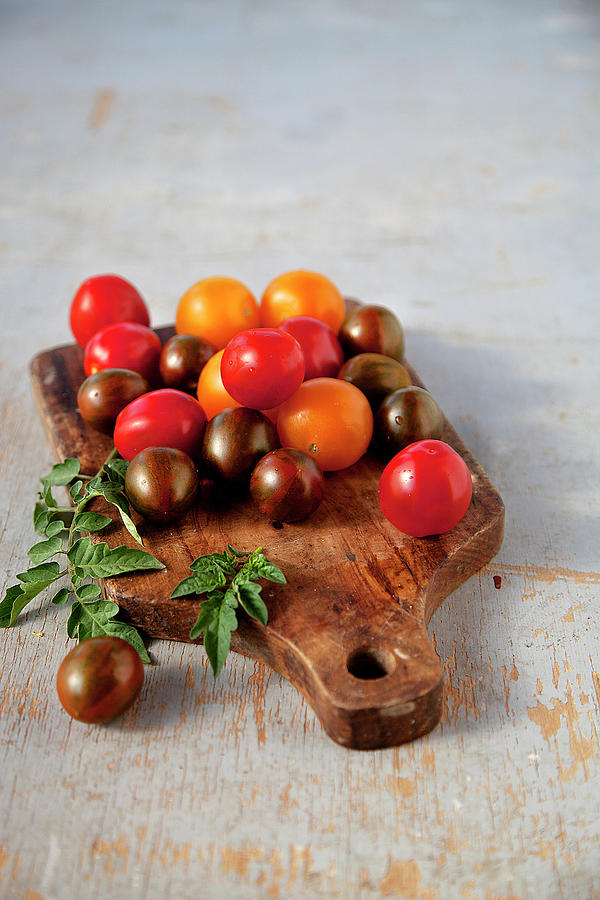 Colorful Tomatoes Photograph by ©tasty Food And Photography