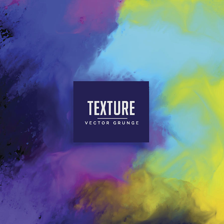 Colorful Watercolor Texture Background Design by StarLineArts
