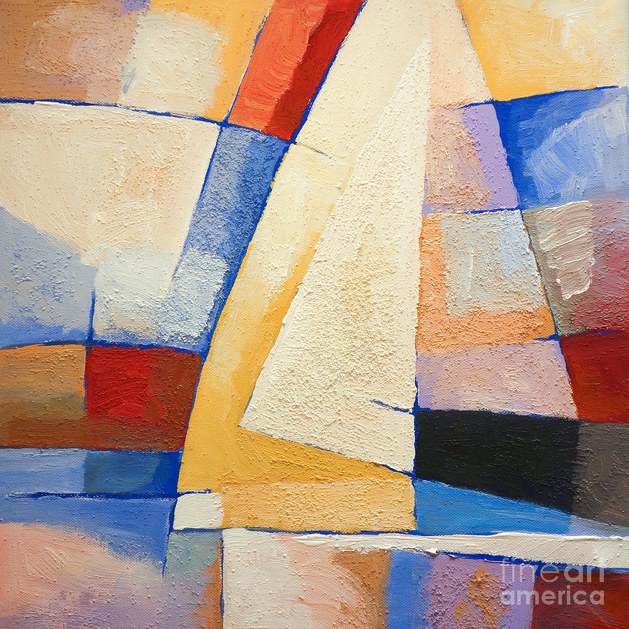 Maritime Painting - Colorful Winds by Lutz Baar