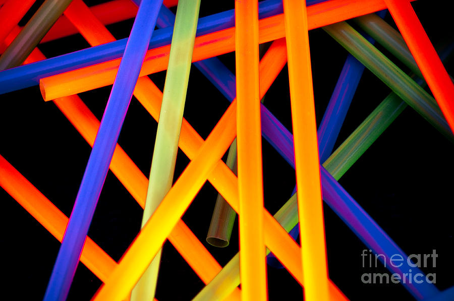 Color Photograph - Coloring Between The Lines by Charles Dobbs