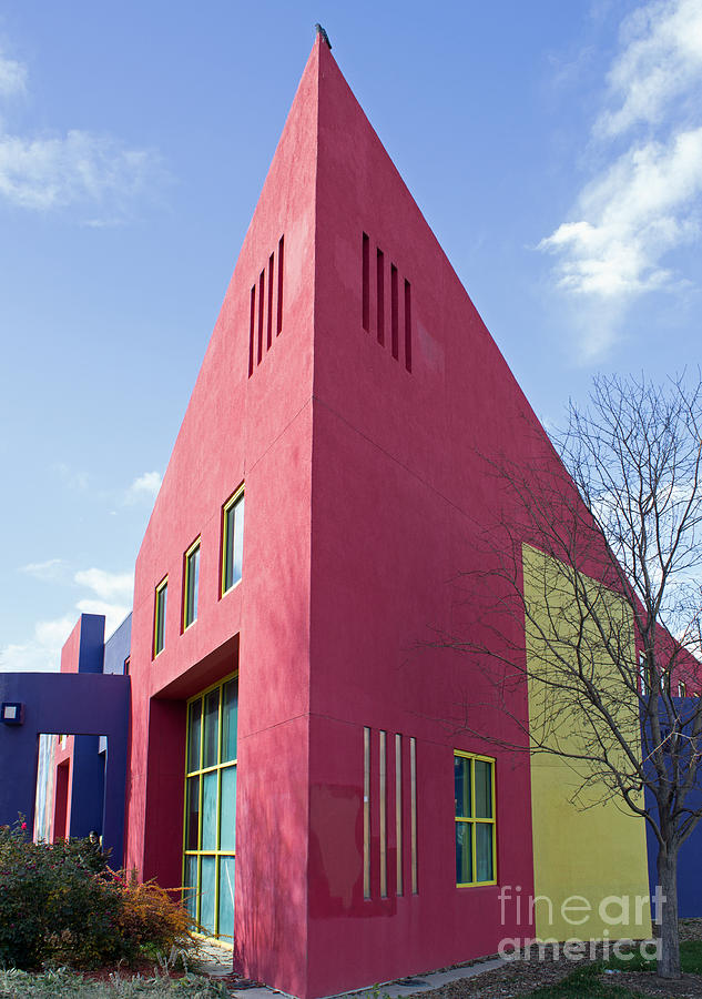Building Photograph - Colors And Angles by Steven Parker
