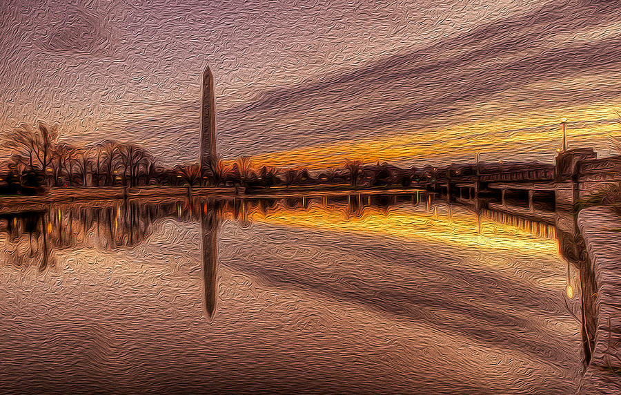 America Photograph - Colors In The Morning by David Hahn