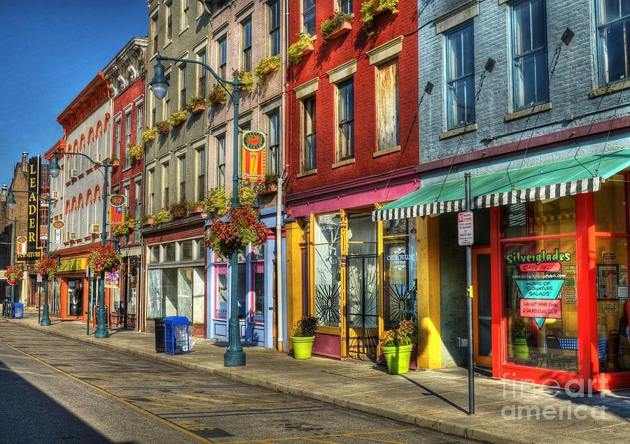 Cincinnati Photograph - Colors Of Cincinnati by Mel Steinhauer