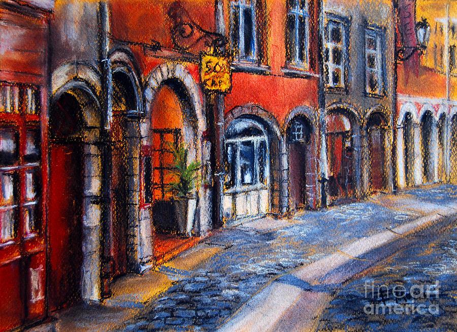 Lyon Painting - Colors Of Lyon 2 by Mona Edulesco