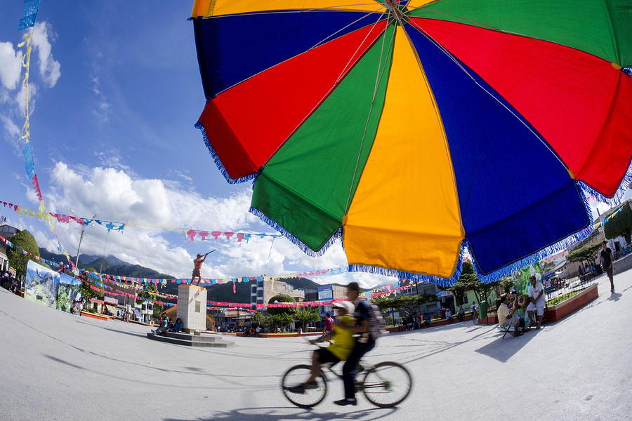 Nueva Cajamarca Photograph - Colors Of Progress by Marlon Dag