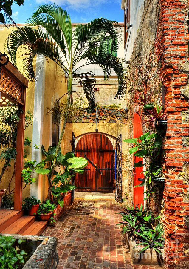 Charlotte Amalie Photograph - Colors Of Saint Thomas 1 by Mel Steinhauer