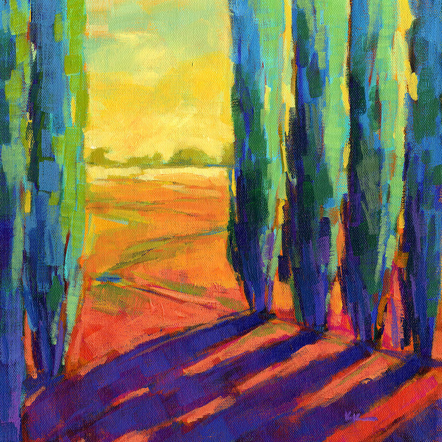 Landscape Painting - Colors Of Summer 3 by Konnie Kim