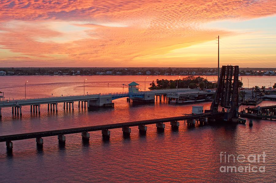 Roosevelt Bridge Photograph - Colors Of The Day by Lynda Dawson-Youngclaus