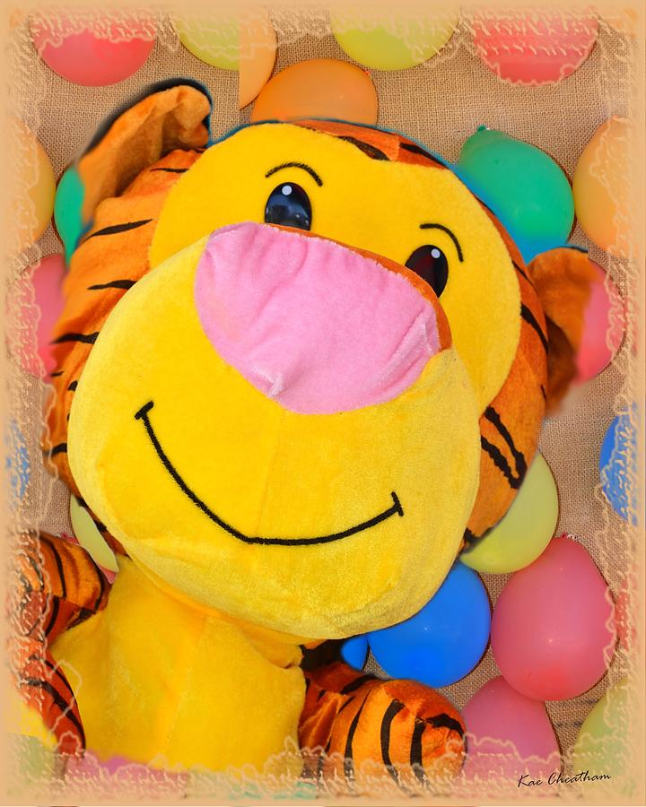 Stuffed Animal Digital Art - Colors Of The Fair 3 by Kae Cheatham