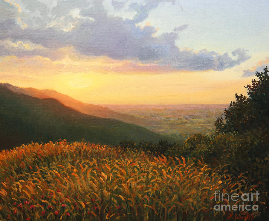 Art Painting - Colors Of The Light by Kiril Stanchev