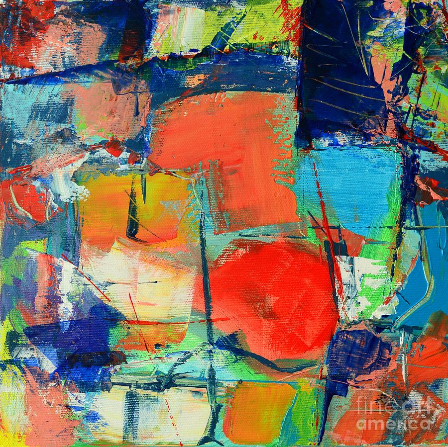 Abstract Painting - Colorscape by Ana Maria Edulescu