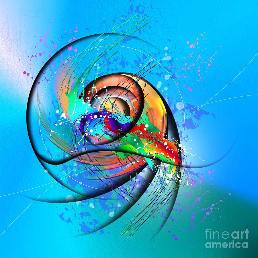 Expressionism Digital Art - Colorwave by Franziskus Pfleghart