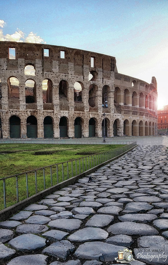 Coloseum Sunrise Photograph by Victor Walsh Photography